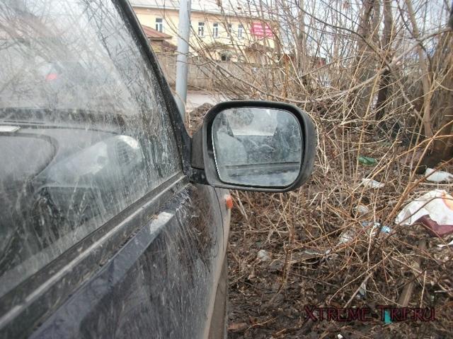 Снятие зеркала заднего вида Нива Шевроле для замены: разборка