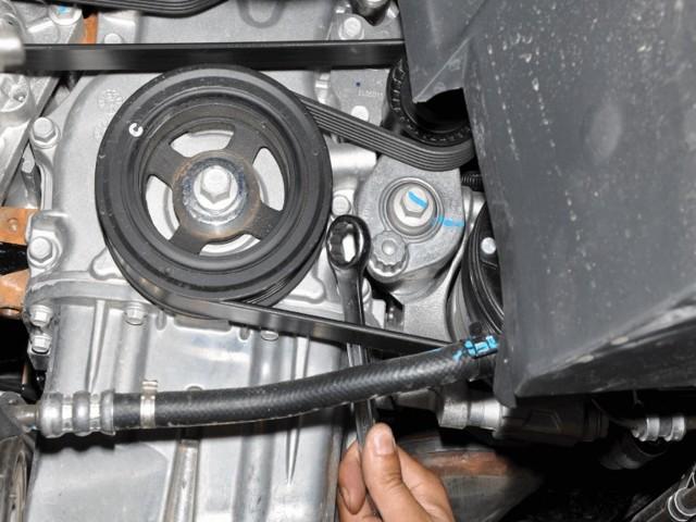 Двигатель Шевроле Кобальт: цепь или ремень ГРМ