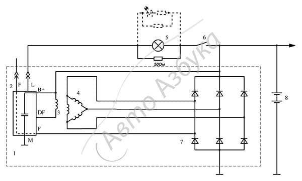 Замена реле регулятора генератора на Лада Калина: фото, видео