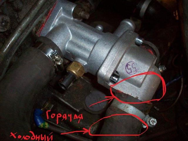 Как поменять термостат на ВАЗ-2114 инжектор: видео и фото
