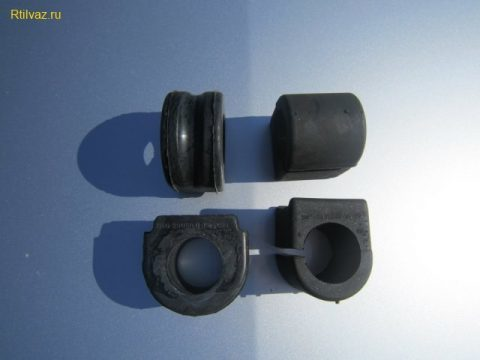 Замена втулок стабилизатора на Рено Логан: видео, резинки