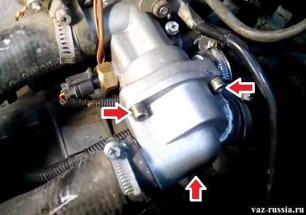 Замена термостата на ВАЗ-2112 16 клапанов: фото, видео, советы