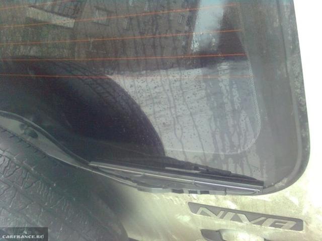 Размер заднего дворника на Шевроле Нива