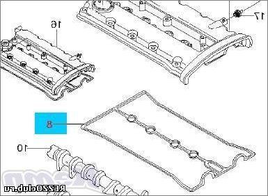 Как на Шевроле Лачетти поменять прокладку клапанной крышки?