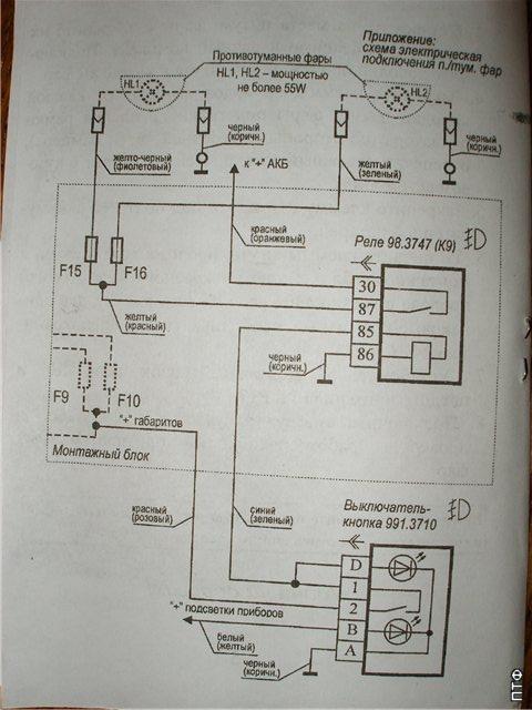 Как установить противотуманные фары на Лада Калина: фото ПТФ
