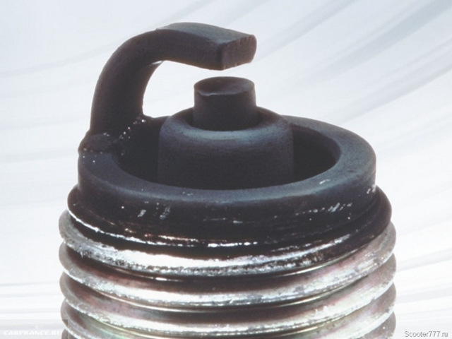 Белый нагар на свечах зажигания инжектор: причины, ремонт