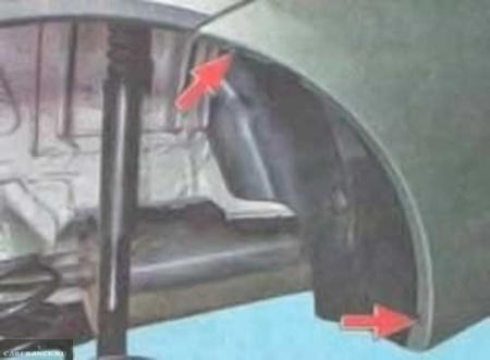Снятие и замена заденего бампера на Лада Ларгус: фото и видео