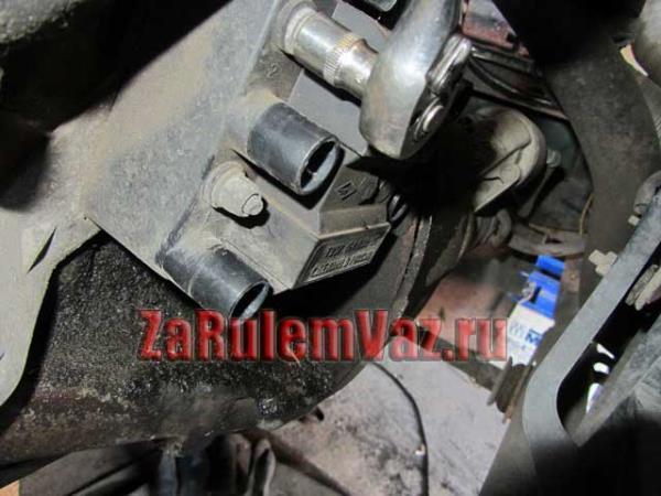 Как снять и поменять модуль зажигания на ВАЗ-2114: фото и видео