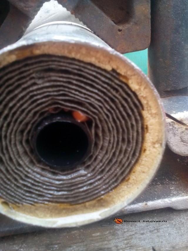 Замена топливного фильтра на Лада Гранта: фото и видео