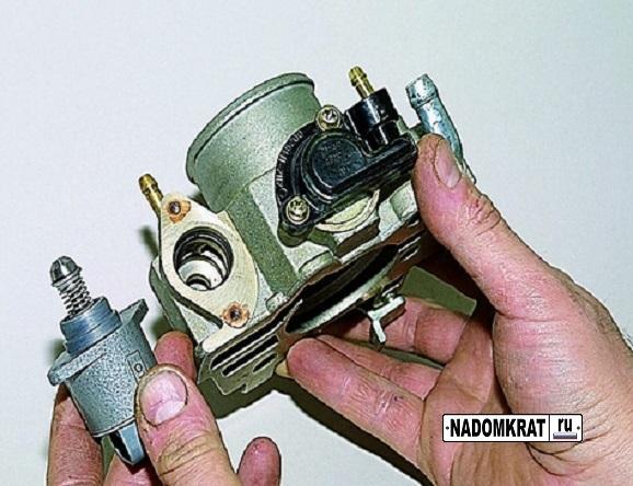 Замена датчика холостого хода на ВАЗ-2114 инжектор: видео о РХХ