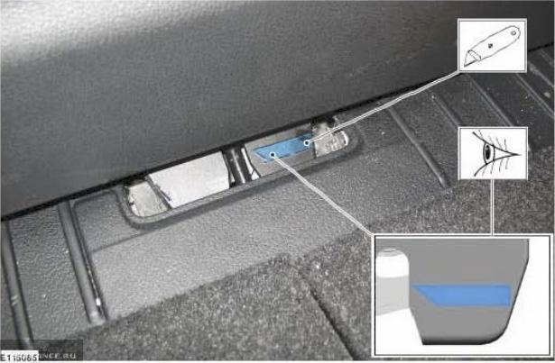 Как открыть багажник из салона на седане Форд Фокус 2