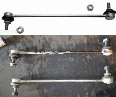 Замена стоек стабилизатора на Форд Фьюжн: фото и видео