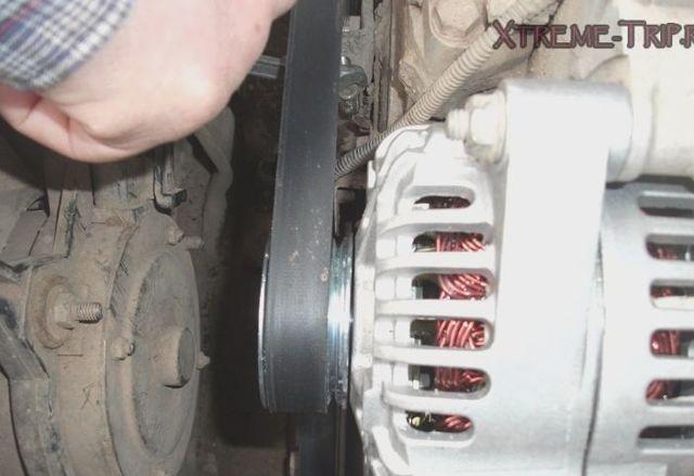 Как натянуть ремень генератора Нива Шевроле: фото и видео