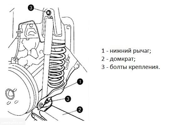 Замена задних амортизаторов на Сузуки Гранд Витара своими руками