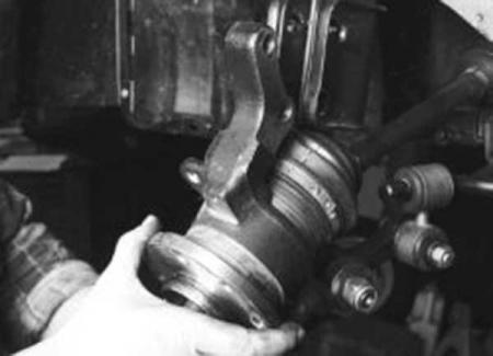 Как самому поменять подшипник передней ступицы на ВАЗ-2114: видео