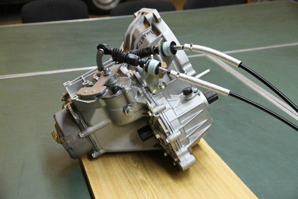 Устройство, ремонт и регулировка КПП Лада Гранта с тросовым приводом