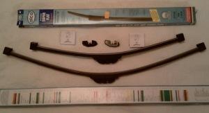 Лада Гранта параметры щеток стеклоочистителя: размер, фото