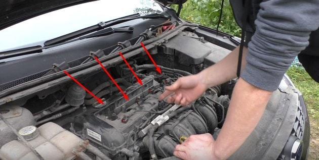 Какой зазор должен быть на свечах зажигания на Форд Фокус 2