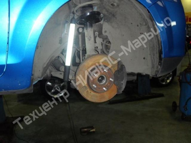 Замена подшипника передней ступицы Форд Фокус 2: фото и видео