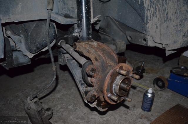 Замена переднего ступичного подшипника на Форд Фьюжн: фото, видео