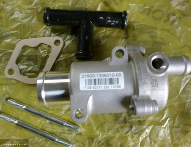Установка термостата от Гранты на ВАЗ-2114: фото и видео