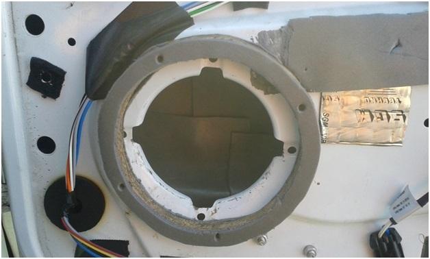 Как установить в задние двери Лада Гранта динамики: фото и видео, 16 см