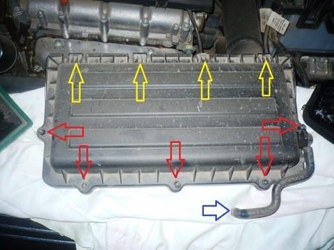 Как поменять воздушный фильтр Фольксваген Поло седан: замены