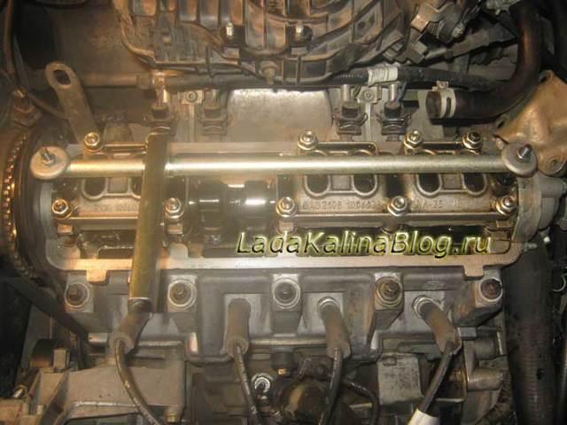 Регулировка клапанов своими руками на лада калина: фото, видео