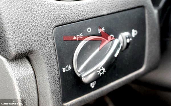 Как включить дальний свет на Форд Фокус 2