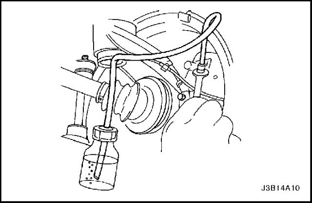 Замена тормозной жидкости на Шевроле Лачетти: фото и видео