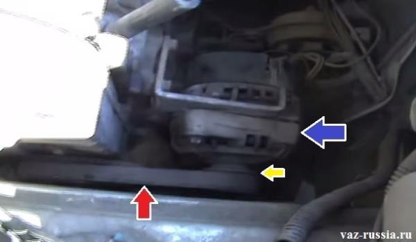 Замена ремня генератора на ВАЗ-2114 8 клапанов: фото и видео