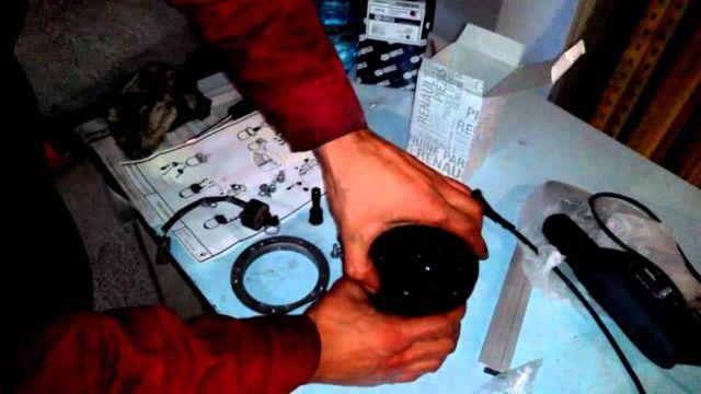 Замена топливного фильтра на Рено Логан с дизелем