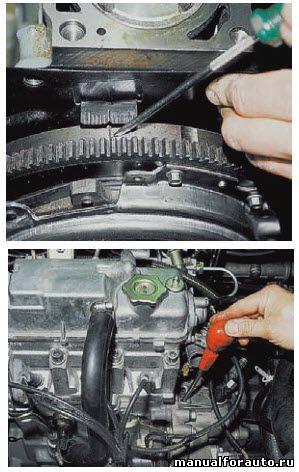 Как выставить метки ГРМ ВАЗ-2112 16 клапанов: фото и видео