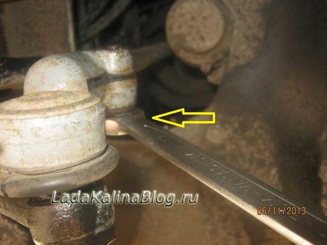 Замена наконечников рулевой тяги Лада Калина: фото, видео, цены
